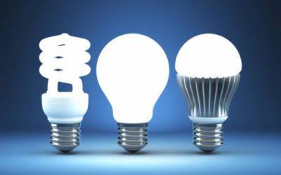 Как светит светодиодная лампочка